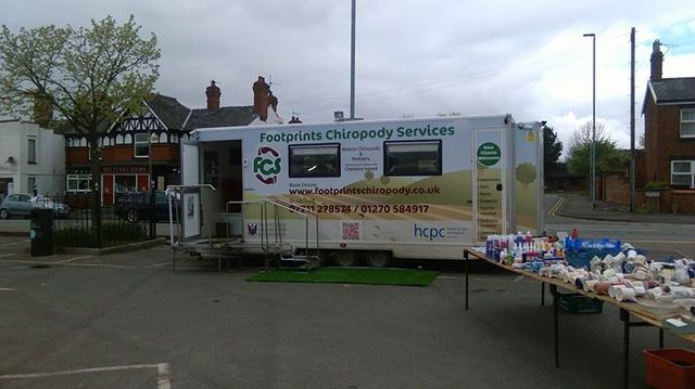 Expert podiatrist | Mobile Chiropody in Holmes Chapel, Middlewich, Crewe & Cheshire