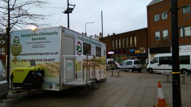 Home visits | Mobile Chiropody in Holmes Chapel, Middlewich, Crewe & Cheshire