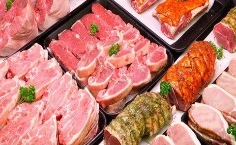 Carne fresca al banco