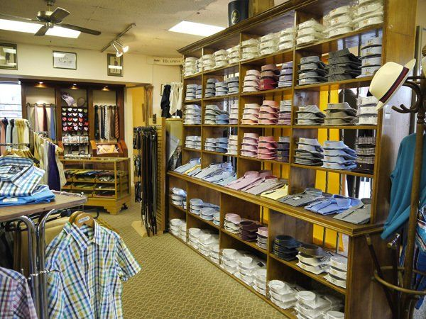 Interior view of our store in Warwick