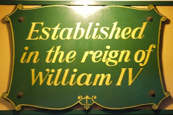 Established in the reign of William IV