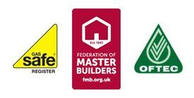 GasSafe OFTEC logos