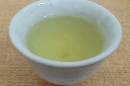 Green tea made from Genmaitcha