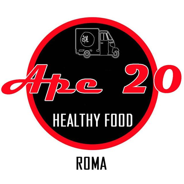 Logo Ape 20 Healthy Food Roma