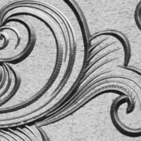 custom etched design
