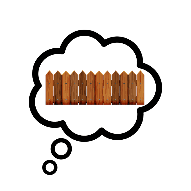 Fence Daydreaming Icon