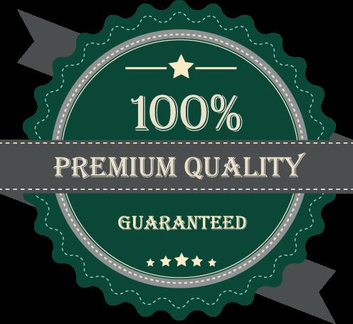 100% Premium Quality Guaranteed Icon