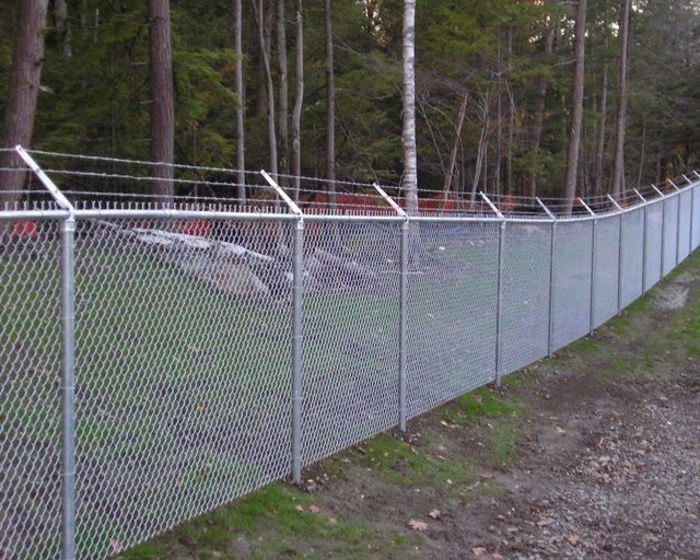 Pinecrest fence company philadelphia commercial chain link fence security chain link fence workwithnaturefo