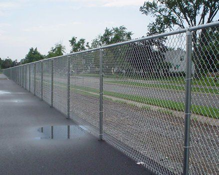 Sports, Facility, or Event Chain Link Fence
