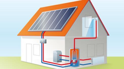 Grafico di una nuova impiantistica fotovoltaica nella casa