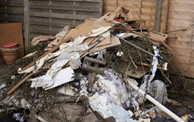 site clearance waste