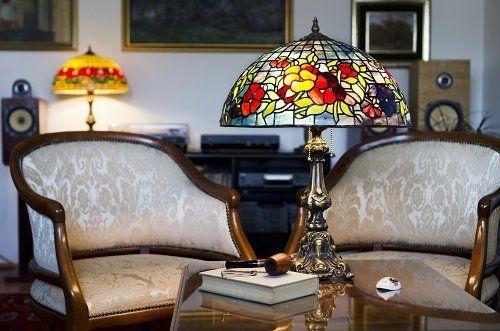 illuminazione interna di un salotto