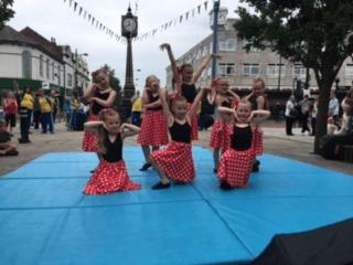 Festival dance performance