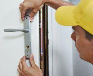 individual installing door handle
