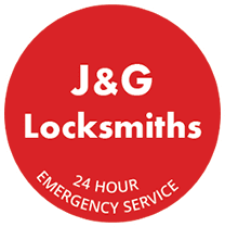 J&G Locksmiths logo