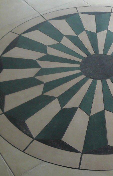 floor tile work