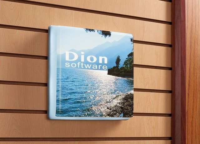 Dion printed formed panel