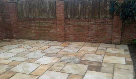 block paving laying