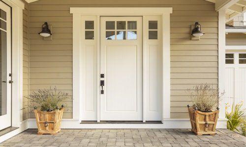 Porta de PVC bianca