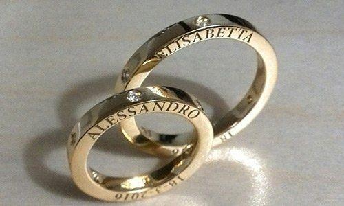 anelli personalizzati a Roma