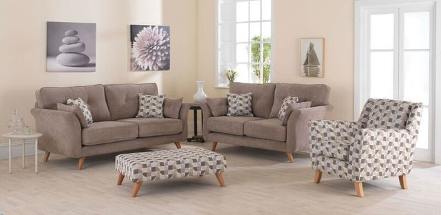 View of an upholstery sofa seat available in Morley