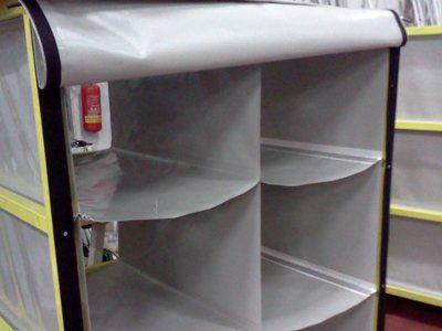 porta oggetti grigio in pvc