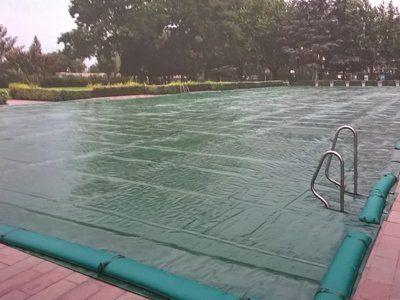 copertura di una piscina
