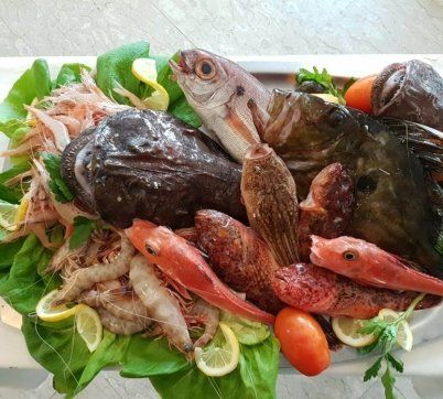 ristorante di pesce a Formia