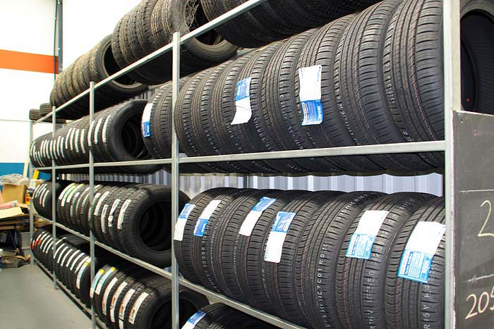 Tyres at our shop in Shellharbour