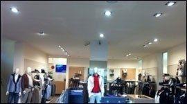 illuminazione per negozi