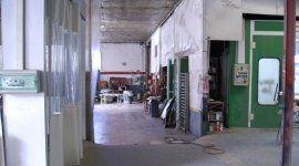 spazio di lavoro dell'officina