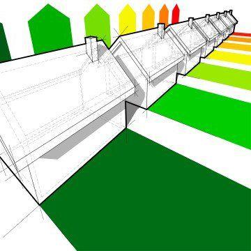 illustrazione livelli energia abitazione e ventilazione meccanica a Rivarolo Canavese