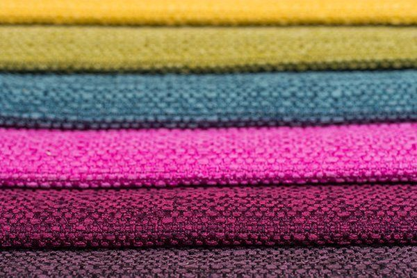 tappezzerie di diversi colori