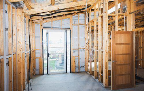 House under renovation in Goshen, OH