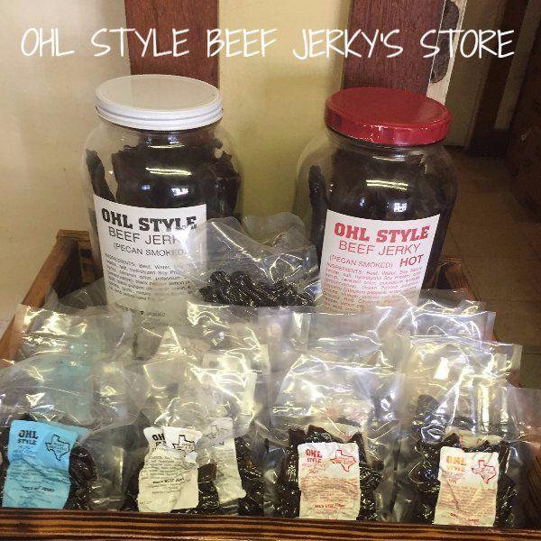 OHL Style beef jerkey store