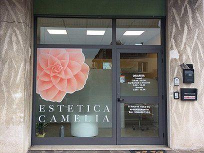 ingresso del centro estetico