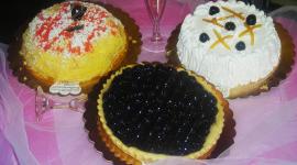 torte alla panna, torte ai frutti di bosco, torte al cioccolato