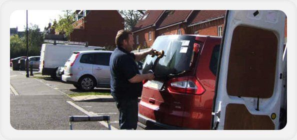 Car windscreen replacement - Colchester, Essex - Colchester Motorglass - man checking windscreen