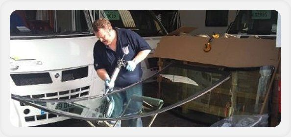 Cracked windscreen repair - Colchester, Essex - Colchester Motorglass - windscreen repair