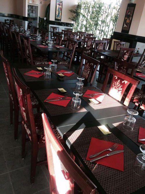 tabella in ristorante