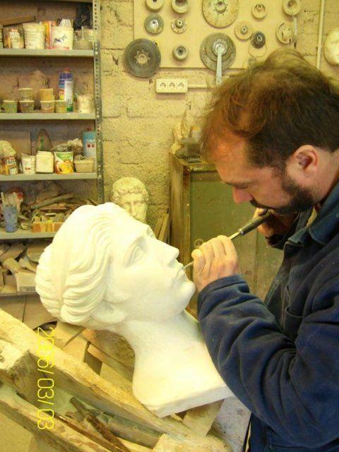 lavorazione del marmo italiano