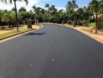 A road that we worked on