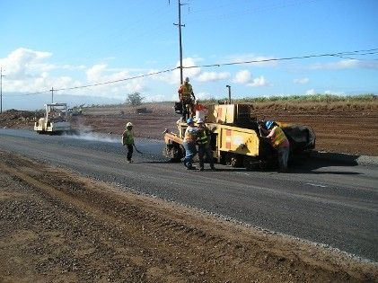 Our experienced paving contractors working in Puunene, HI