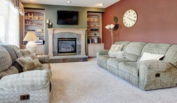 carpet fitted living area