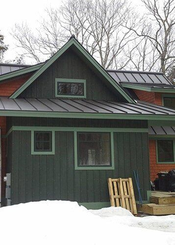 Green Roofing Rockland Me Green Leaf Roof