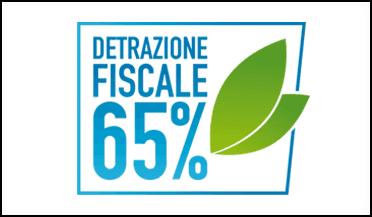 Locandina - Detrazione fiscale del 65%