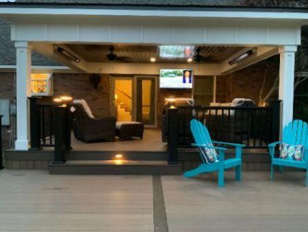 custom deck lighting in arkansas