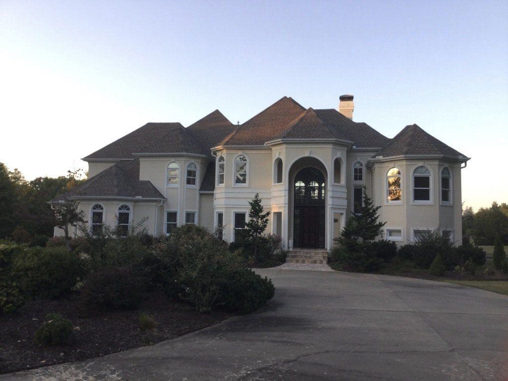 exterior home remodel before in arkansas