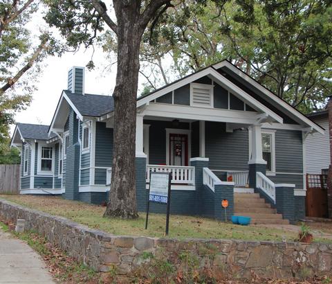 historic home renovations little rock, AR