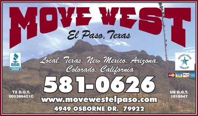 Home | Move West Moving Company - El Paso, Texas